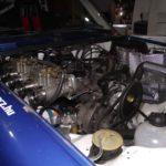 Renault R5 Alpine Gr2 versenymotor épült